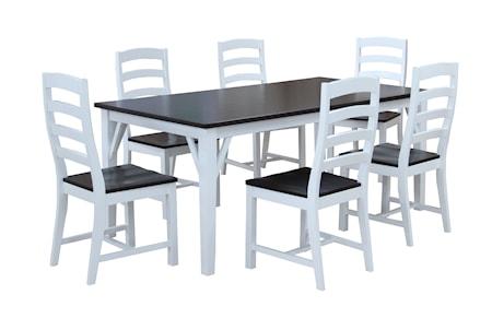 Falsterbo Lyon matbord ? 180 cm + 45 cm klaff