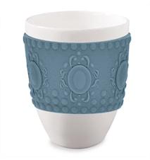 Mug Baroque Blue/Grey