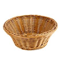 Brödkorg Ø 23 cm, brun