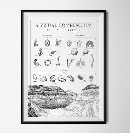 Bilde av Konstgaraget A visual compendium to objects poster