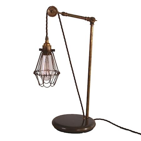 Mullan Lighting Apoch pulley bordslampa