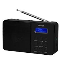 Denver DAB+ & FM-radio Svart