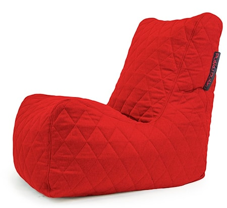 Pusku Pusku Seat quilted nordic sittsäck ? Red