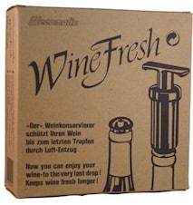 Wine fresh- Vakuumpump och Återförslutningskork