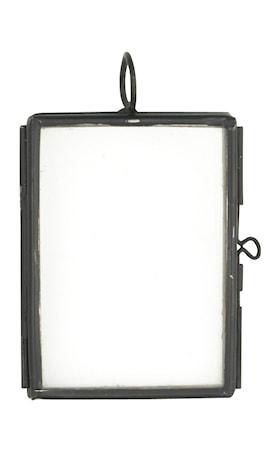 Madam Stoltz Valokuvakehys 5x3,75 cm - Musta