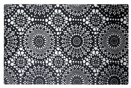 Galzone Brikke med mønster Transparent 44x28,5 cm thumbnail