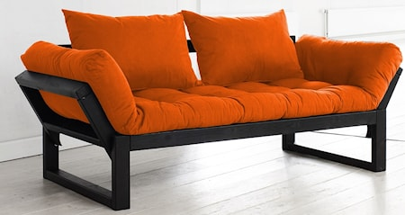 KARUP Edge soffa - svart/orange