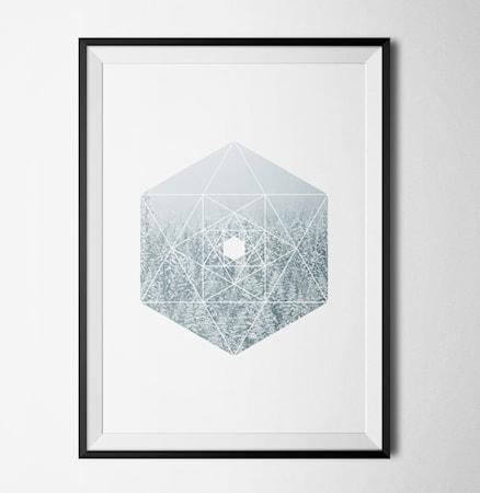 Bilde av Konstgaraget Subtile lines 1 poster