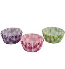 Muffinsform 90 st Rosa, grön, lila