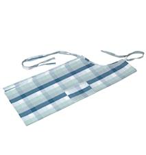 Förkläde rutig provenceblå/pärlblå/pärlgrön