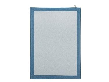 Kökshandduk Blå ram 50x70 cm
