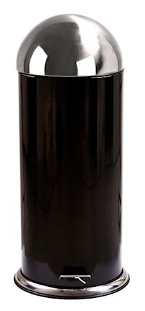 Galzone Poljinroska-astia Teräs Musta 80 cm