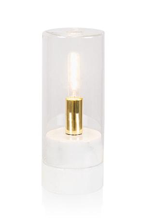 Bilde av Globen Lighting Bordlampe Marmi High Hvit
