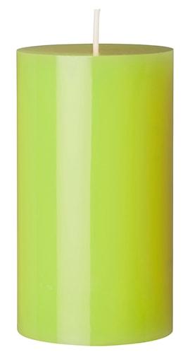 Blockljus Blanka Rustik 6,6X12 cm Kiwi