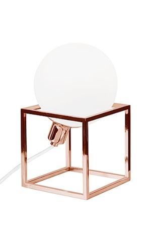Bilde av Globen Lighting Bordlampe Cube Kobber