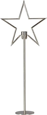 Tindra Stjärna på Fot Råsilver 82cm