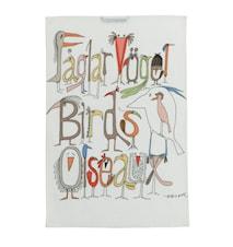Fåglarna pratar Kökshandduk