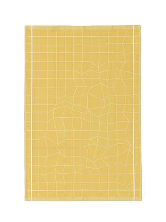 Normann Copenhagen Illusion Kjøkkenhåndkle Gul thumbnail