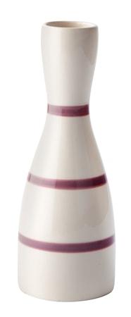 Bilde av KJ Collection Vase Stripete Blomstrete 22cm