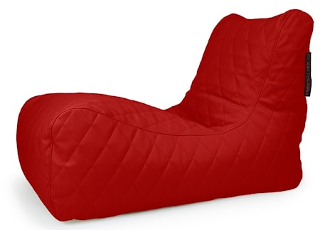 Pusku Pusku Lounge quilted outside sittsäck ? Dark Red