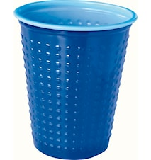 Plastbägare Colorix 20 cl Blå 40-pack