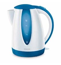 Vattenkokare blå 1,8 liter