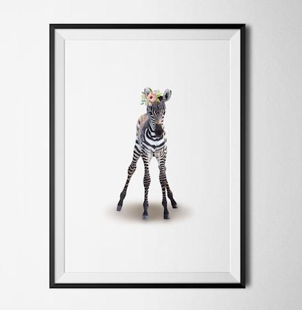 Bilde av Konstgaraget Zebra poster