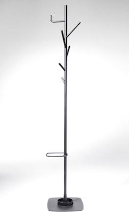 SMD Design Alfred klädhängare med paraplyställ - Mörkgrå