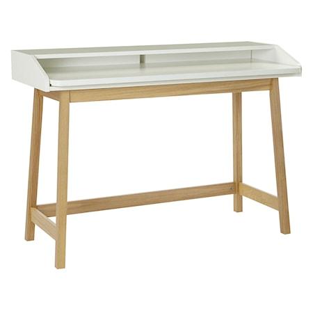 Woodman St James Compact skrivbord ? Vit/ek