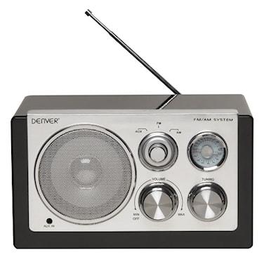 Radio Svart pianolack