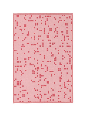 Normann Copenhagen Illusion Kjøkkenhåndkle Rosa thumbnail