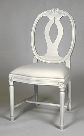 Kallholmen Vilhelmina stol Vit