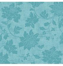 Servetter 24 cm 3-Lag Venezia Pastel Turquoise 20 st
