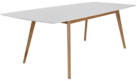 RGE Millie matbord - Vit/ek