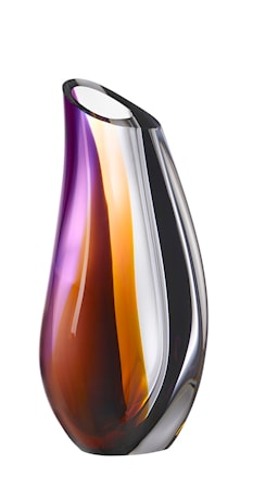 Bilde av Kosta Boda Orchid Lilla/Brun Vase 28 cm
