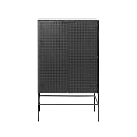 Kristina Dam Studio Grid skåp - svart, marmor