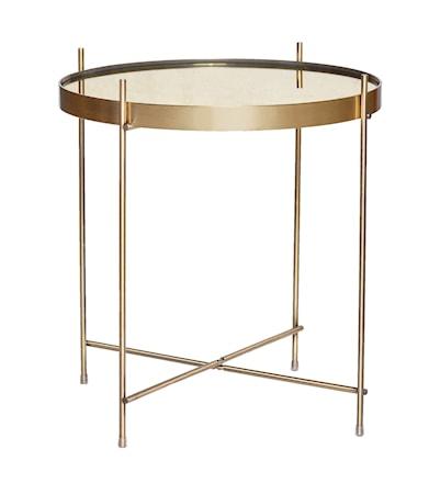 Hübsch Soffbord ø43xh45 cm - Guld