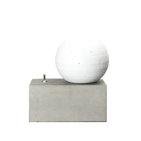 Bordslampa Concrete Vit/Grå