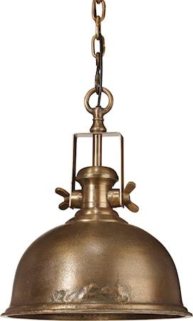 Bilde av PR Home Leeds Taklampe Råmessing 38cm