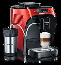 Kaffemaskin Piccola Premium Röd