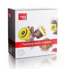 PopSome Herbs set med 3 stycken
