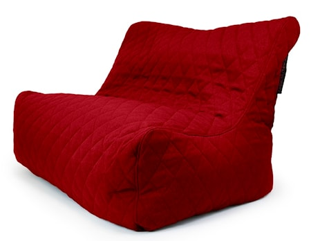 Pusku Pusku Sofa seat quilted nordic sittsäck - Red