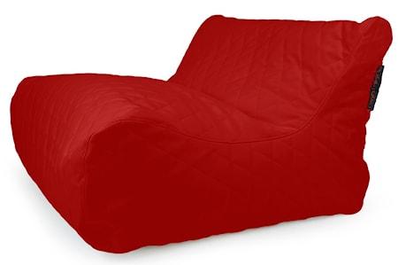 Pusku Pusku Sofa lounge quilted outside sittsäck - Dark Red