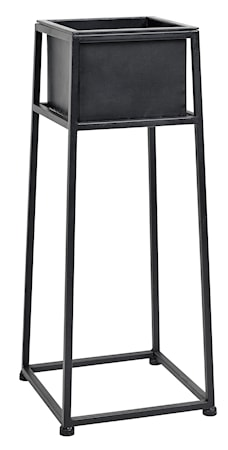 Iron planter on stand