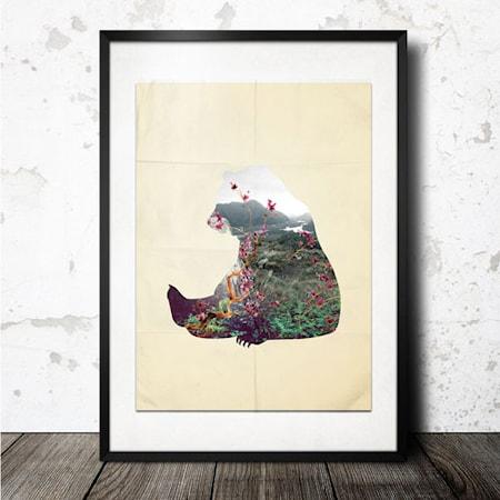 Bilde av Konstgaraget bear poster