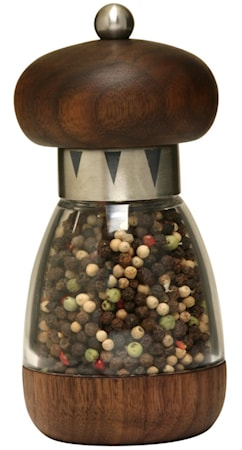 William Bounds Mushroom American Black Walnut Pippurimylly 15 cm