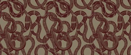Tapet Snake Peek red