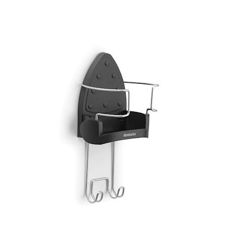 Brabantia Hållare för strykjärnet, väggmonteras Mörkgrå