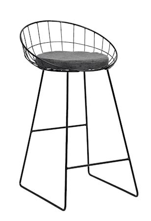 Bilde av Nordal Classic barstol med sittepute