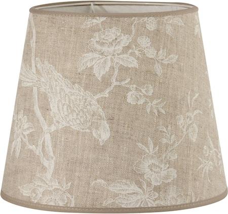 Bilde av PR Home Mia L Lampeskjerm White Bird 30 cm